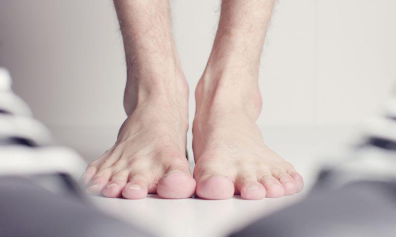 O impacto da má alimentação dos pés